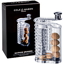 Buy Cole and Mason Professional Nutmeg Mill Online at johnlewis.com