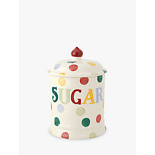 Buy Emma Bridgewater Polka Dot Text Sugar Storage Jar Online at johnlewis.com
