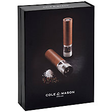 Buy Cole & Mason Cheltenham Salt and Pepper Mill Set Online at johnlewis.com