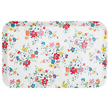 Buy Cath Kidston Clifton Rose Melamine Tray, Small Online at johnlewis.com