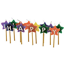 Buy Tala Happy Birthday Star Candles Online at johnlewis.com