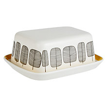 Buy MissPrint Little Trees Butter Dish Online at johnlewis.com