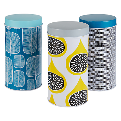 MissPrint Storage Tins, Set of 3
