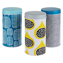 Buy MissPrint Storage Tins, Set of 3 Online at johnlewis.com