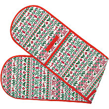 Buy Emma Bridgewater Christmas Joy Double Oven Glove Online at johnlewis.com