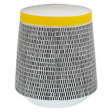 Buy MissPrint Storage Jar, Dash Online at johnlewis.com