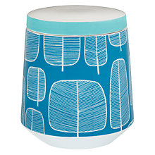 Buy MissPrint Little Trees Storage Jar Online at johnlewis.com