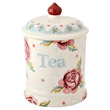 Buy Emma Bridgewater Rose and Bee Tea Storage Jar Online at johnlewis.com