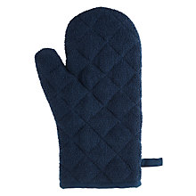 Buy House by John Lewis Towelling Oven Mitt Online at johnlewis.com