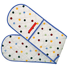 Buy Emma Bridgewater Polka Dot Double Oven Glove Online at johnlewis.com