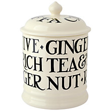 Buy Emma Bridgewater Toast & Marmalade Pottery Biscuit Jar Online at johnlewis.com
