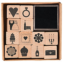 Buy Rico Wedding Stamp Set, Set of 12 Online at johnlewis.com