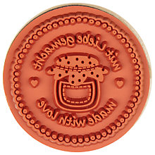 Buy Rico Made With Love Cupcake Stamp Online at johnlewis.com