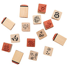 Buy Rico Patchwork Stamp Set, Nature Online at johnlewis.com