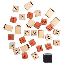 Buy Rico ABC Stamp Set, Pack of 30 Online at johnlewis.com