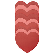 Buy Rico Paper Model Hearts, Pack of 9 Online at johnlewis.com