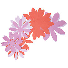 Buy Rico Paper Daisy Flowers, Pack of 6, Pink/Red Online at johnlewis.com