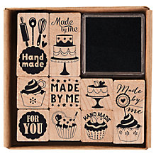 Buy Rico 'Made By Me' Stamp Set Online at johnlewis.com