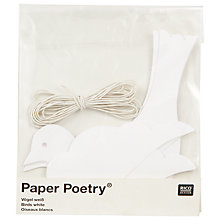 Buy Rico Paper Poetry Bird, Pack of 6 Online at johnlewis.com