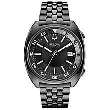 Buy Bulova 98B219 Bulova Men's Accutron II Precisionist Snorkel, Black Online at johnlewis.com