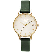 Buy Olivia Burton OB15TD01 Women's Dandy Watch, Forest Green/Gold Online at johnlewis.com