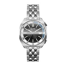 Buy Bulova 96b209 Men's Accutron Watch, Silver/Black Online at johnlewis.com