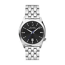 Buy Bulova 96B214 Men's Accutron II Precionist Watch, Silver/Black Online at johnlewis.com