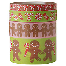 Buy Rico Christmas Candy Print Tape, Pack of 4, Multi Online at johnlewis.com