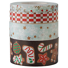 Buy Rico Christmas Sweet Print Tape, Pack of 4, Multi Online at johnlewis.com