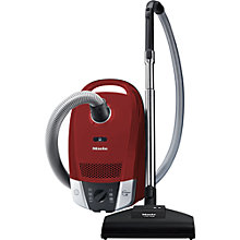 Buy Miele Compact C2 Cat & Dog PowerLine Cylinder Vacuum Cleaner, Red Online at johnlewis.com