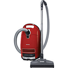 Buy Miele Complete C3 Cat & Dog PowerLine Cylinder Vacuum Cleaner, Red Online at johnlewis.com
