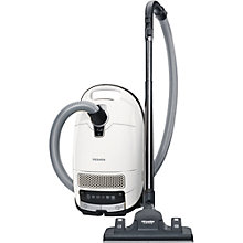 Buy Miele Complete C3 Silence Ecoline Plus Cylinder Vacuum Cleaner, White Online at johnlewis.com