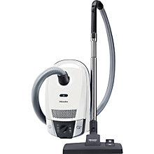 Buy Miele Compact C2 Allergy EcoLine Plus Cylinder Vacuum Cleaner, White Online at johnlewis.com