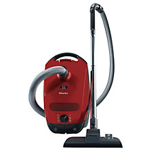 Buy Miele Classic C1 PowerLine Cylinder Vacuum Cleaner, Red Online at johnlewis.com