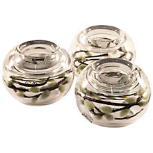 Buy Peony Pussy Willow in a Tealight Holder, Set of 3 Online at johnlewis.com