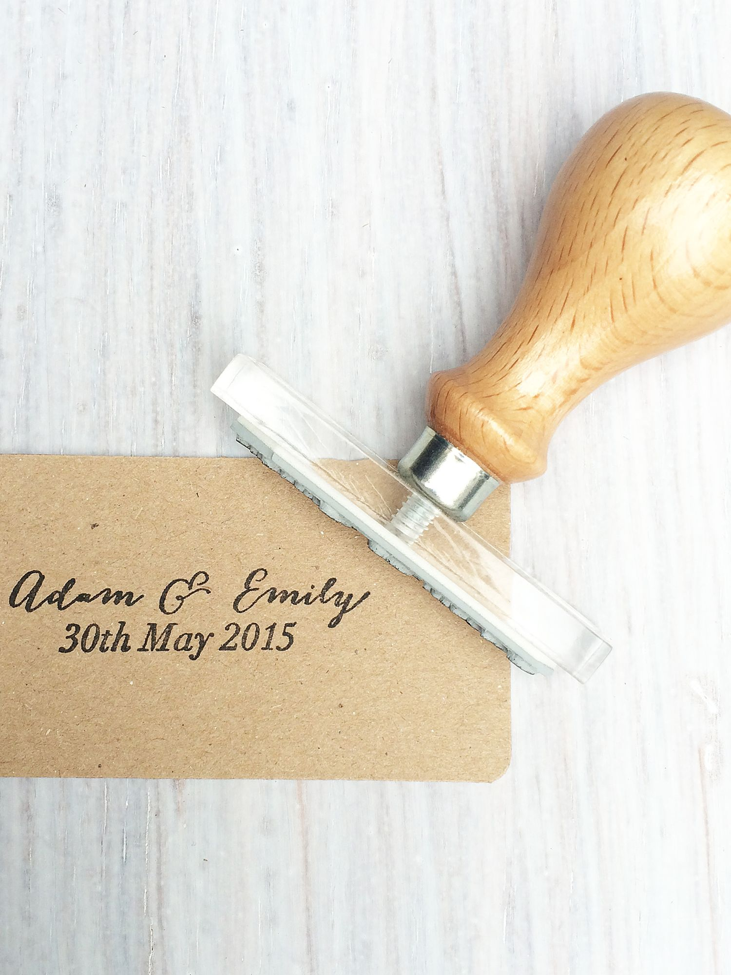 StompStamps StompStamps Personalised Wedding Favour Names Stamp