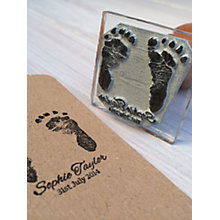 Buy StompStamps Personalised Birth Announcement Stamp Online at johnlewis.com