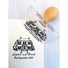Buy StompStamps Personalised Country House Wedding Stamp Online at johnlewis.com
