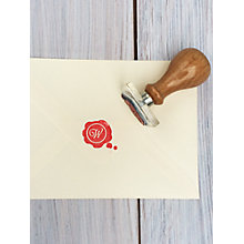 Buy StompStamps Personalised Wax Seal Style Initial Stamp Online at johnlewis.com