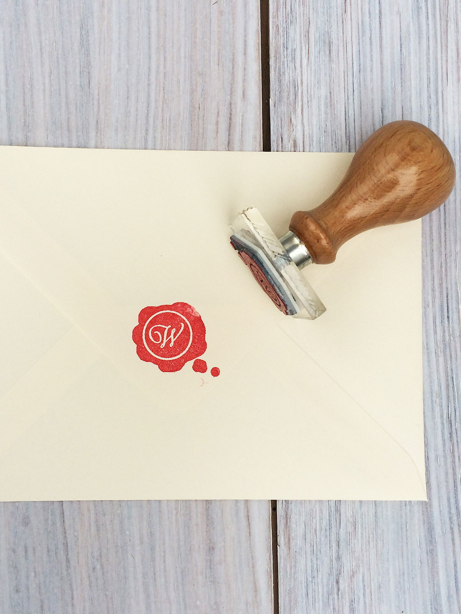 StompStamps StompStamps Personalised Wax Seal Style Initial Stamp