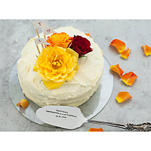 Buy Cutlery Commission Silver-Plated Personalised Cake Slice Online at johnlewis.com