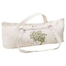 Buy Gaiam Tree of Life Canvas Mat Bag, Natural Cream Online at johnlewis.com