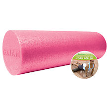 Buy Gaiam Restore Muscle Therapy Foam Roller, Pink Online at johnlewis.com