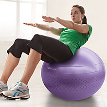 Buy Gaiam 55cm Total Body Balance Ball Kit, Purple Online at johnlewis.com