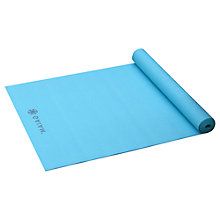 Buy Gaiam 3mm Solid Mat, Sky Blue Online at johnlewis.com