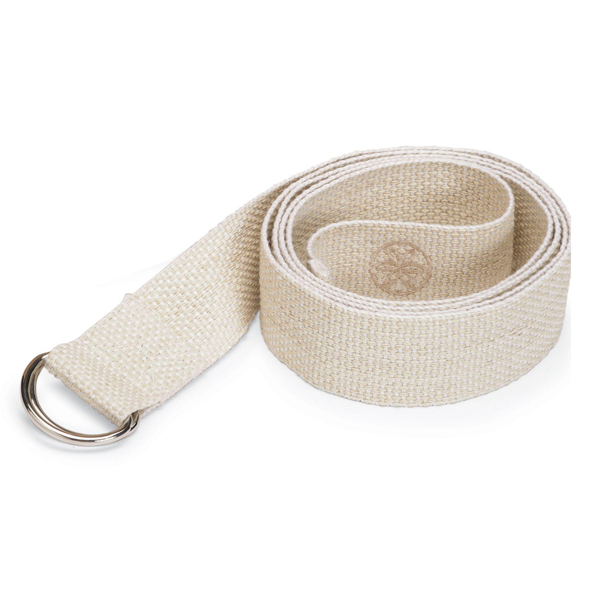 Gaiam Gaiam 6 Cotton Yoga Strap, Cream