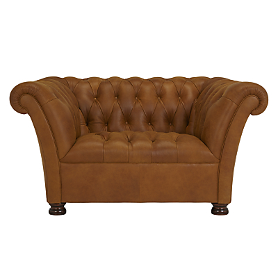 John Lewis Cambridge Leather Snuggler, Outback Ranch