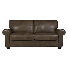 Buy John Lewis Hampsted Large Sofa, High Plain Bronx Online at johnlewis.com