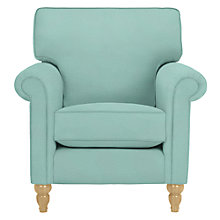 Buy John Lewis Eleanor Armchair, Livorno Duck Egg Online at johnlewis.com