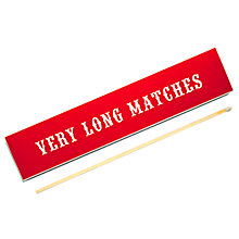 Buy Archivist Very Long Matches, Red Online at johnlewis.com